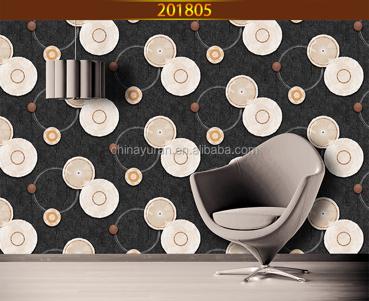 Hot Sale Beautiful Flower Wall Paper for Home Decoration/Household Wallpaper