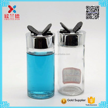 wholesale mini glass spice jars with plastic top lid