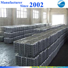 China manufacturers supply high quality pure 99.995 zinc ingot with reasonable price and fast delivery !!
