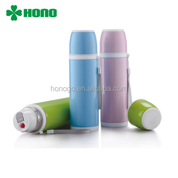 500ML Transparent Thermos Vacuum Flask Keep Drinks Hot and Cold For 24 Hours