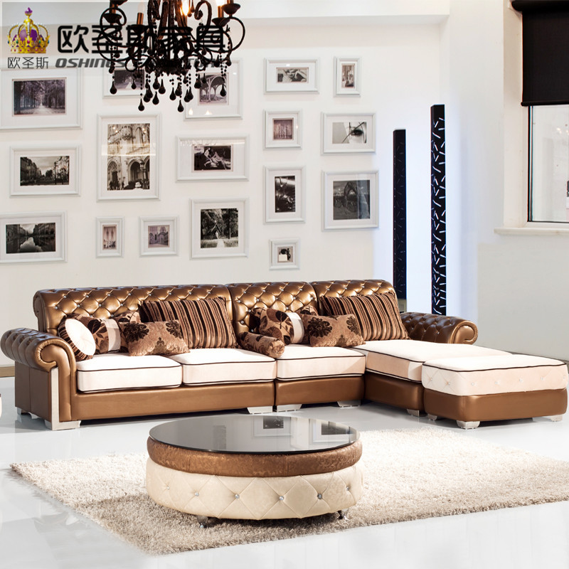 china <strong>furniture</strong> sofa ,luxury livingroom <strong>furniture</strong> ,classic leather sofa set OCS-112M