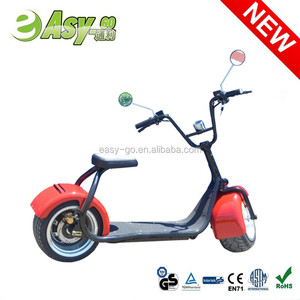 Newest design 1000w/800w City COCO four wheel electric scooter with CE/RoHS/FCC certificate hot on sale