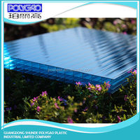 China wholesale market 8.0mm to 20mm Thickness pc four wall polycarbonate sheet carports content cheap beautiful