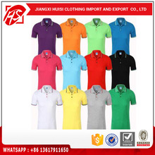 100% Cotton Custom POLO t-shirt men