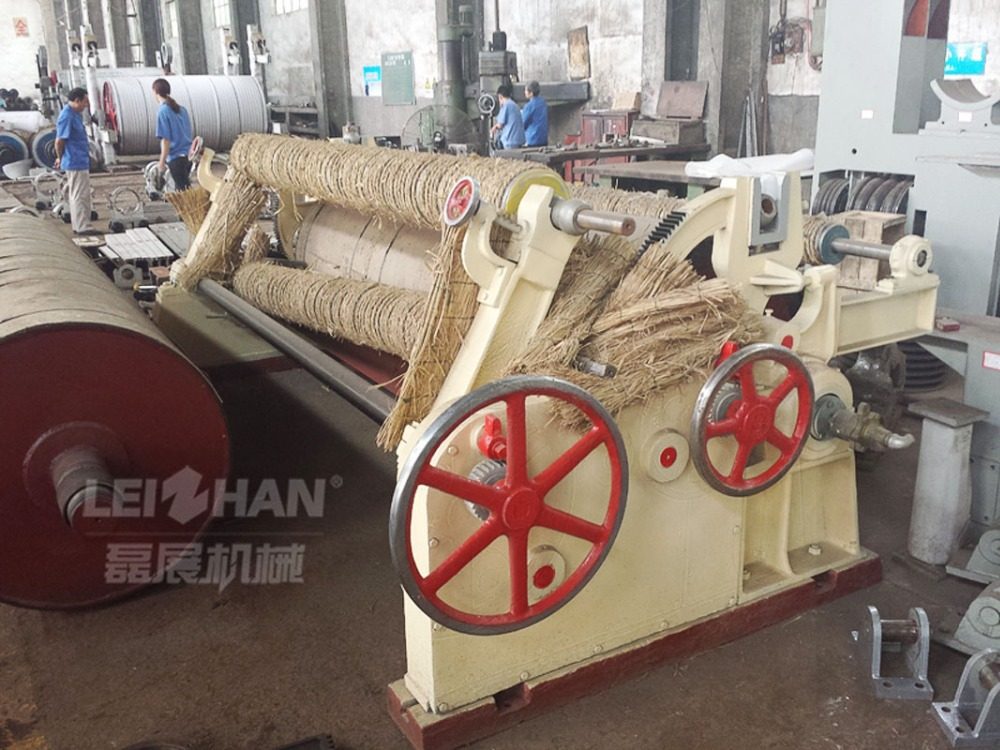 Paper production industry machinery / toilet tissue paper roll making machine/ tissue paper reel cutting machine
