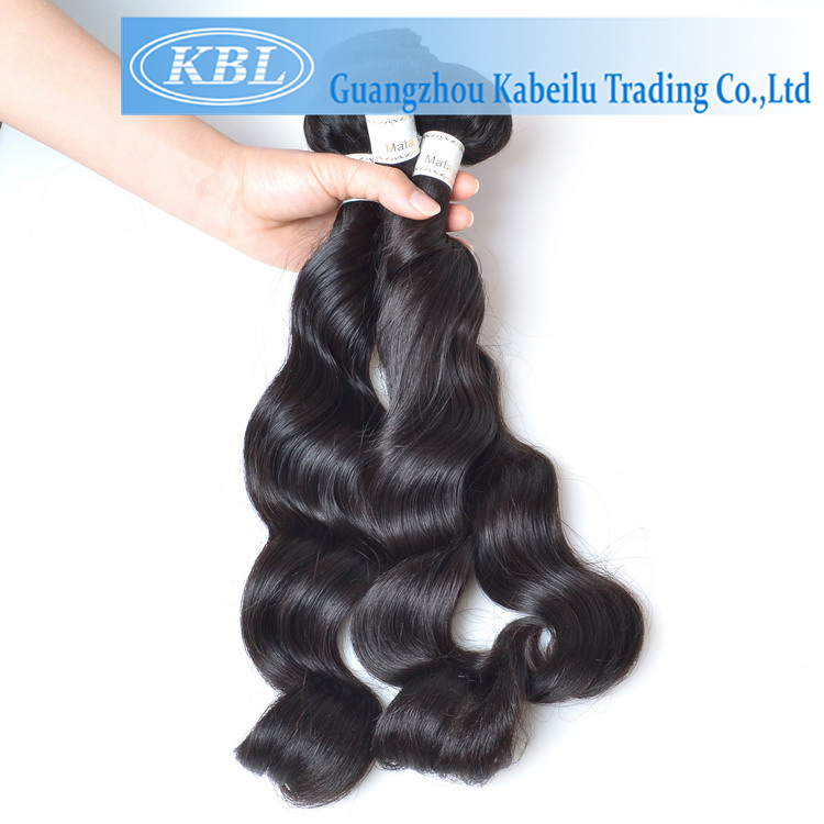 On Sale virgin unprocessed sew in human hair weave ombre hair men