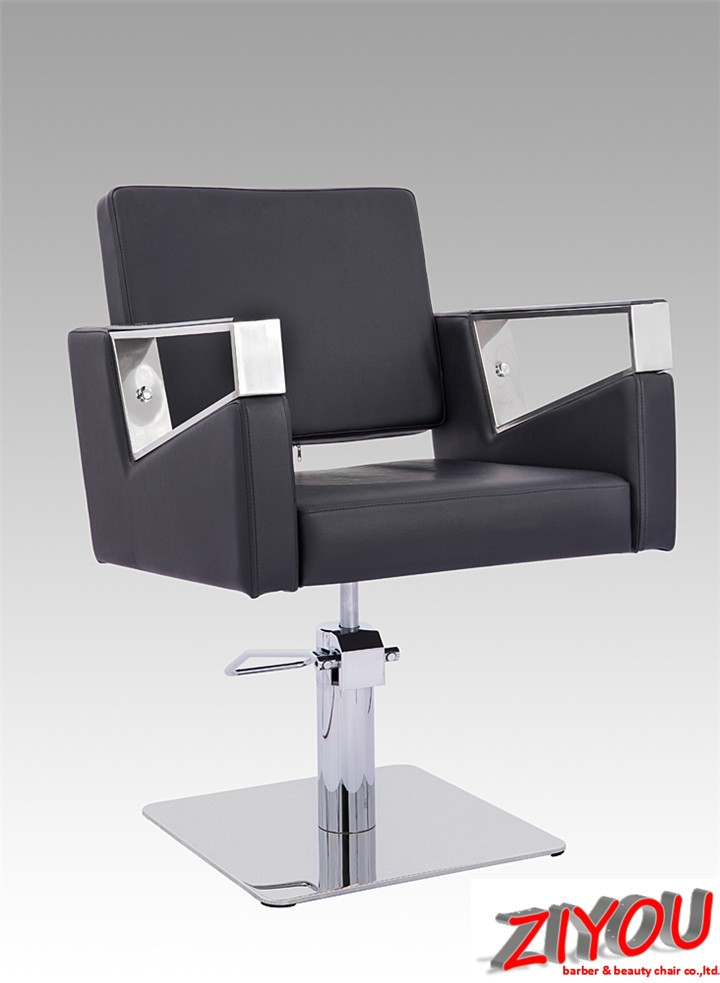 Popular synthetic leather hair cutting chair price
