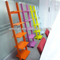 5 sheves bright color storage shelf