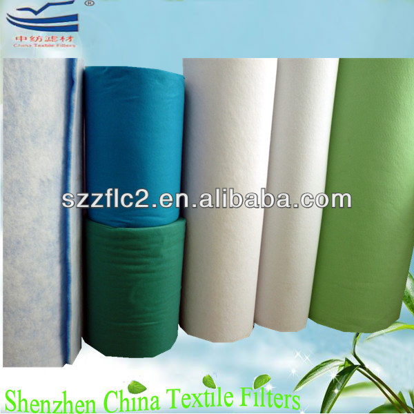 Polyester non-woven fabric material for pre-filters G1~G4