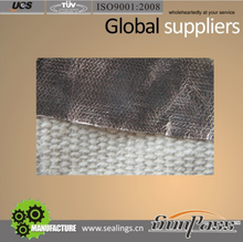 Heat Insulation Ceramic Fiber Cloth Aluminum Foil