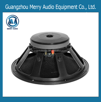 15 inch 350W Ferrite magnet subwoofer speaker for line array MR1518075M