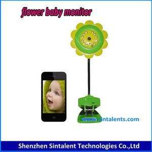 "new model!2.4GHz Wireless Digital 2""LCD Color Camera Audio Video Night Vision Baby Monitor"