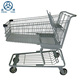 America style supermarket shopping trolley hand and shopping cart