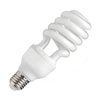 40w energy saving lamp half/full spiral energy saving light pbt + tricolor energy saving bulb