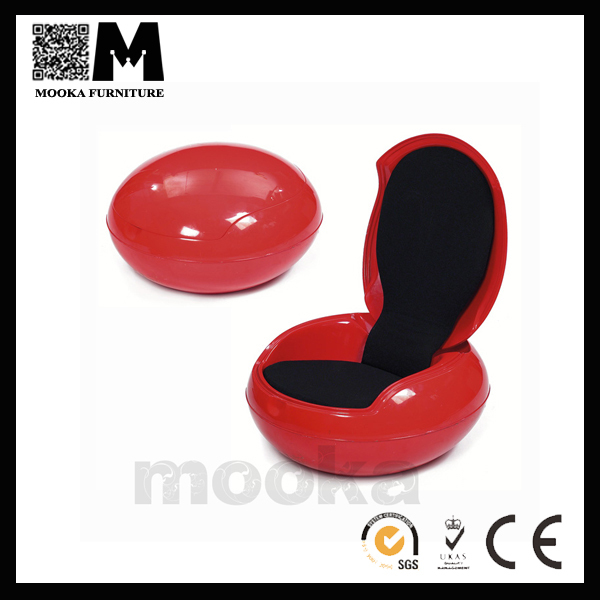 classic round egg chair plastic no leg folding chair