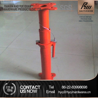hot sale adjustable steel prop scaffolding for export