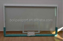 China factory quality guarantee basketball tempered glass backboard