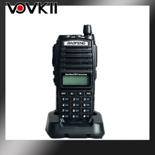 2pcs/lot hot sales Portable Dual Band 5W Baofeng UV-82 Walkie Talkie