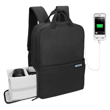 Oem <strong>large</strong> capacity usb <strong>phone</strong> charging smart camera lens insert bags for men mountain backpack