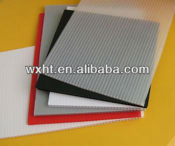 Corrrugated plastic shee/ PP hollow sheet/Manufacturer