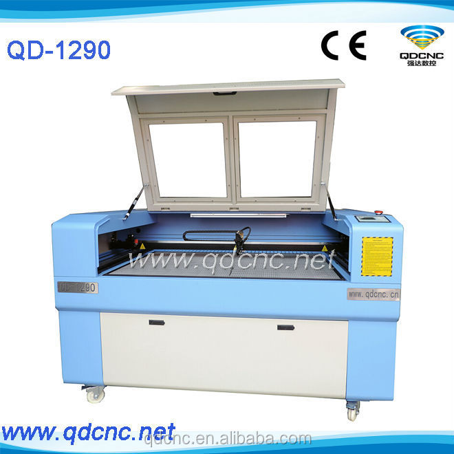 laser cutting engraving machine to make fashion lady jeans blouses QD1290