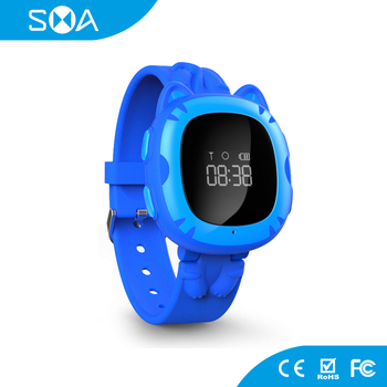 64Mb Flash MTK 6261D CPU Protect Kids Fit iOS&Android Smart Watch Kids GPS