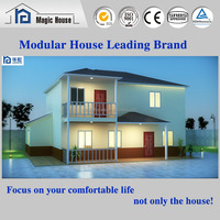 Factory wholesale light Steel modular homes Prefab house and villa