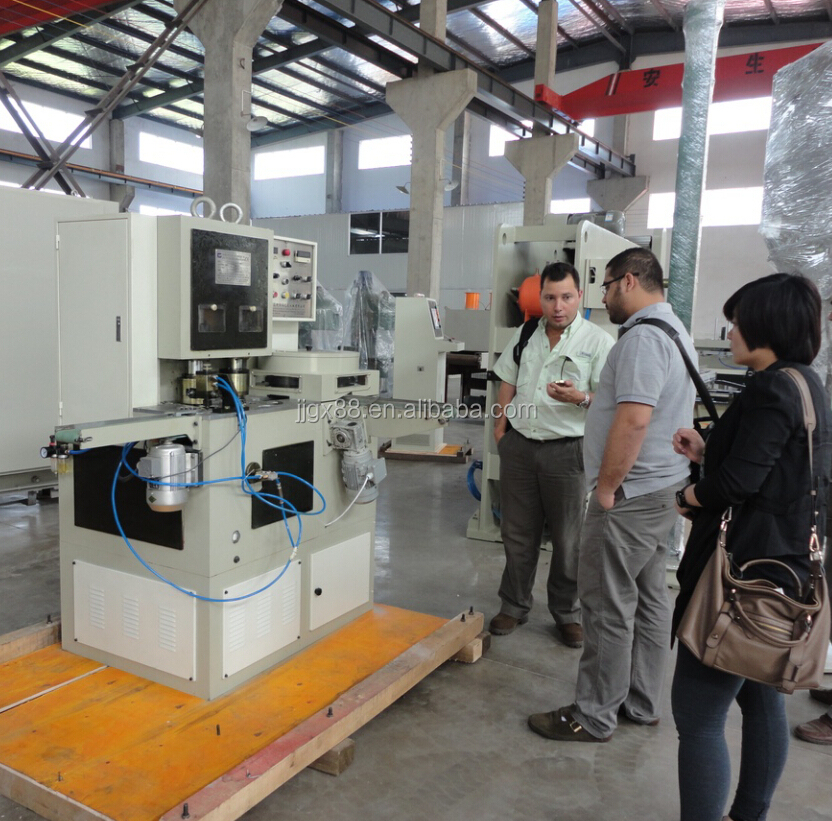 Lug cap twist-off metal cap making machine production line from China