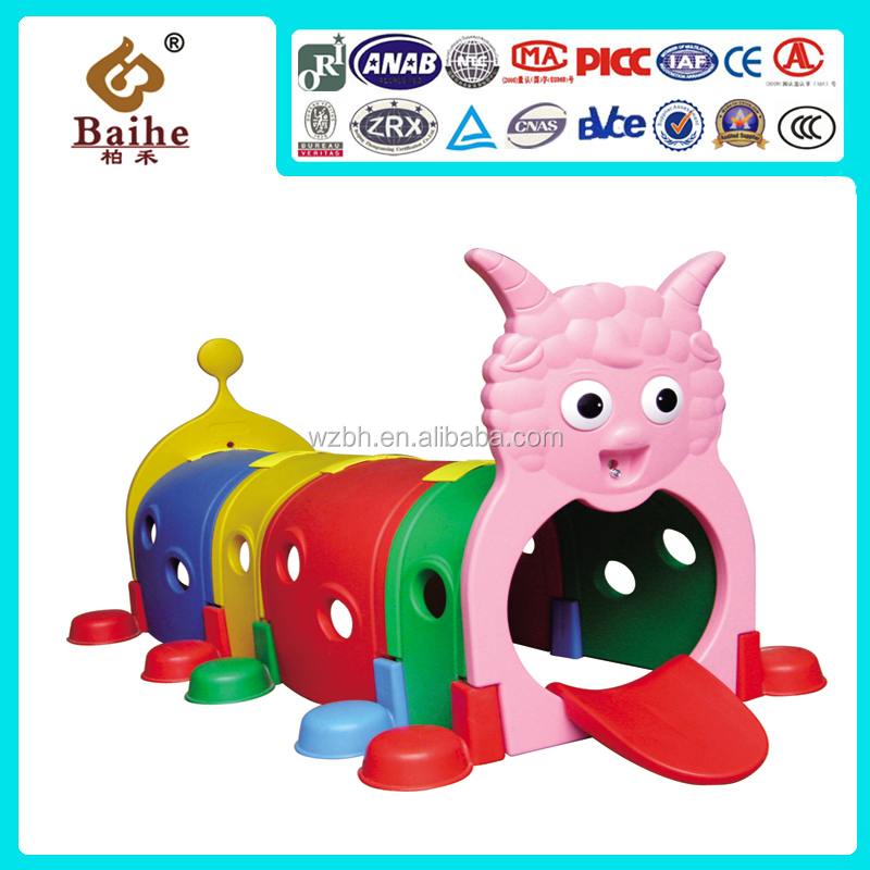New High Quality Little Fairy Kids Plastic Playhouse Play Tunnel for Commercial Center