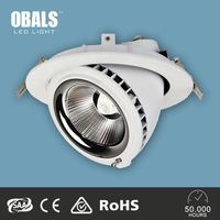High Quality 3 Year Warranty COB Latest 8 inch led retrofit recessed downlight