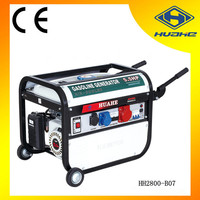 2 kw generator gasoline 380v,high quality gasoline generator europe popular