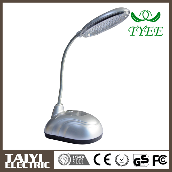 Modern writing rechargeable led table lamp