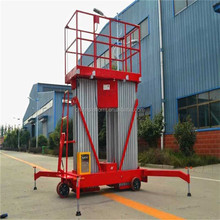 Powered Personnel Hydraulic Aluminum Lift