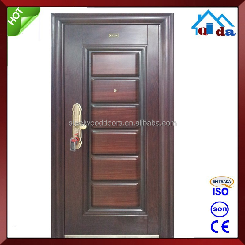Metal main single door design photos buy single door for Single door design for home