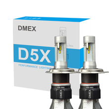 DMEX 25W 4000LM D5X Adjustable Canbus LED HeadLight H4 H7 H8 H9 H11 H10 H12 H16 9005 9006 9012 H13 Car H4 LED Headlight Bulbs