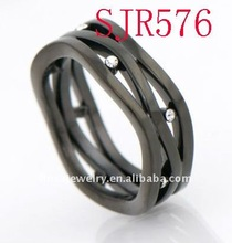 promotional men's stainless steel ring jewelry