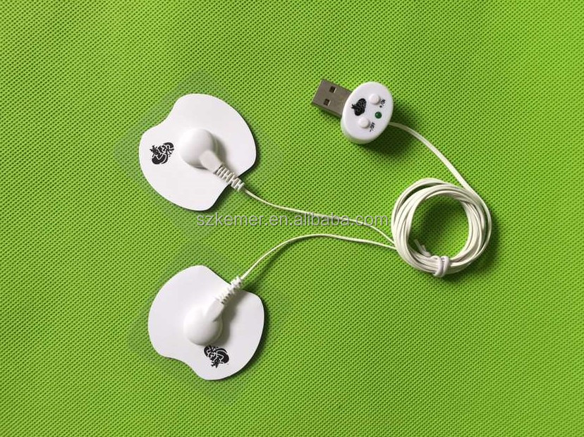 Tens low frequency therapy unit electronic pulse Mini USB massager