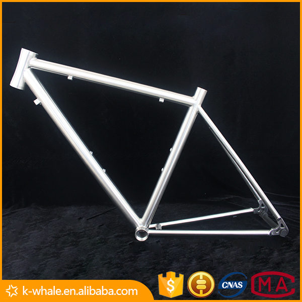 Road racing bicycles quad racing bike titanium frame racing bike