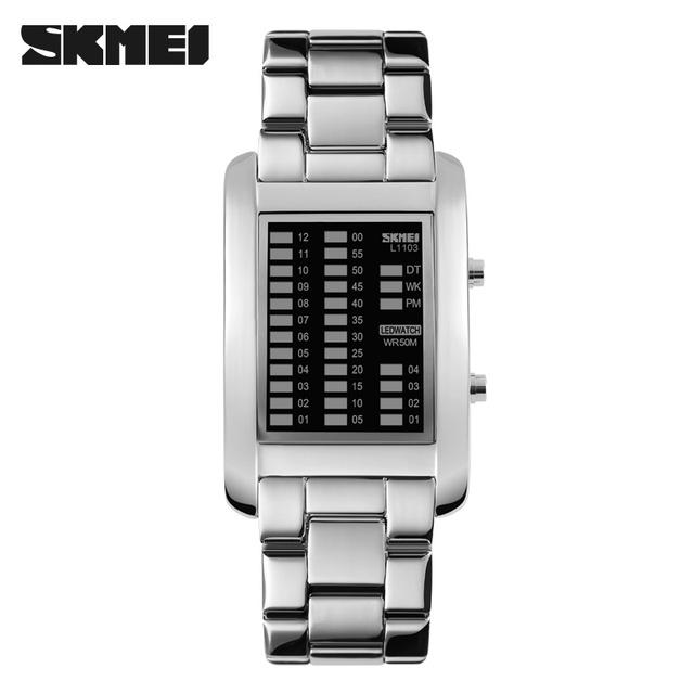 Factory cheap price modern mens business digital led electronic wrist watch