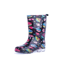 kids led light pvc rain boots 66861