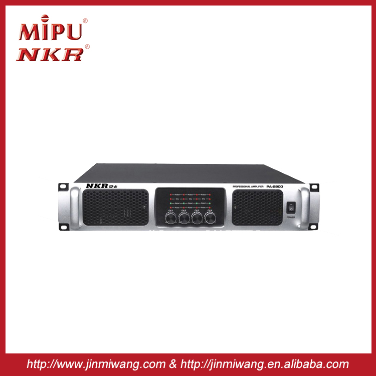High quality Professional Power amplifier PA2000 Professional Audio Amplifier