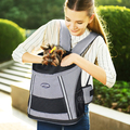 Pattern Front dog carrier dog carrier backpack
