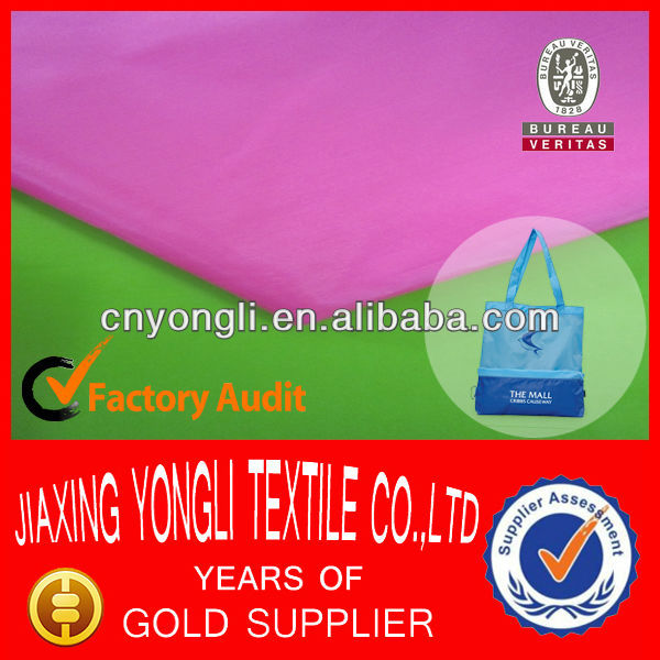 China Manufacturer Waterproof PA Coated Bag Fabric