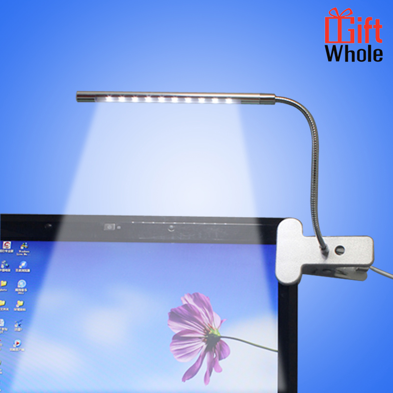 Wholesale 10 LED USB Clip Light Indoor Reading Clamp Lamp Book Lamp Desk Light for Unique Needs