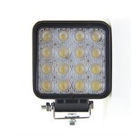 Auto Spare Parts Car led work light 48w 4*4 offroad cars,jeep,auto parts led driving light ip67 12v led headlight