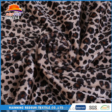 hot sale 75D african super wax leopard print fabric
