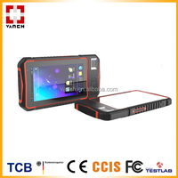 Android rugged UHF RFID reader tablet with barcode scanner/fingerprint