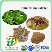 Icariin 50% 60% 80% 90% Epimedium Extract , Natural Chinese herbal Sex Medicine for men