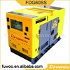 Super silent Water cooled FDG60SS diesel Generators set