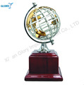 Hot Metal Earth Wooden Globe Award